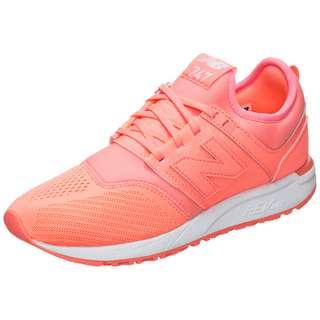 NEW BALANCE WRL247-SW-B Sneaker Damen korall / weiß