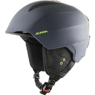 ALPINA GRAND Skihelm charcoal-neon matt