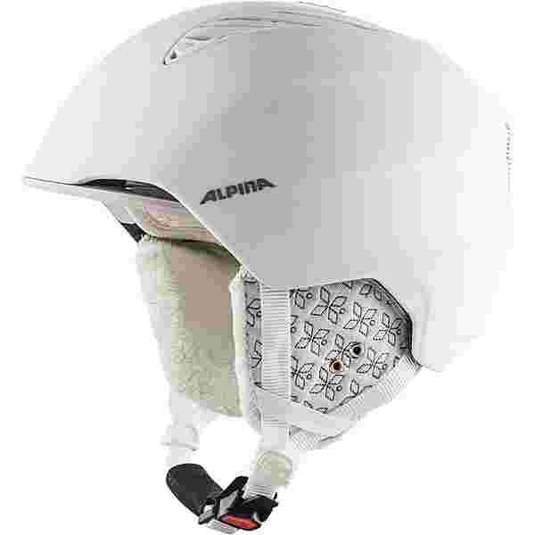 ALPINA GRAND Skihelm white-prosecco matt