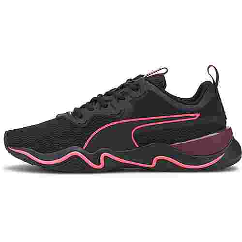 PUMA Zone XT Fitnessschuhe Damen puma black-burgundy-luminous peach