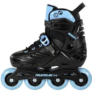 POWERSLIDE Khann Jr LTD Fitness Skates Kinder black-blue