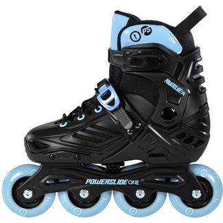 POWERSLIDE Khann Jr LTD Fitness Skates Kinder black-blue