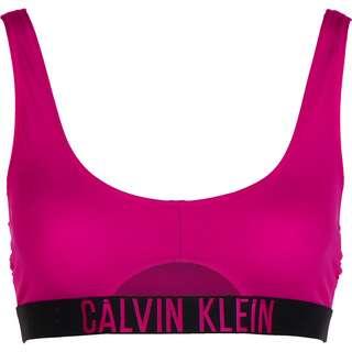Calvin Klein Cut out Bikini Oberteil Damen pink