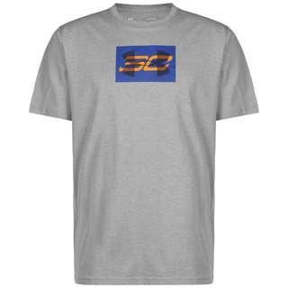 Under Armour SC30 Overlay Basketball Shirt Herren schwarz