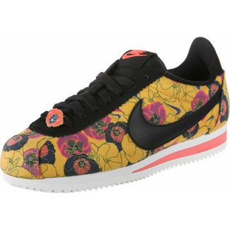 Nike Classic Cortez LX Sneaker Damen gelb/schwarz