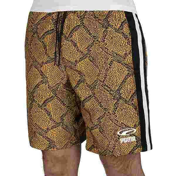 PUMA Snake Pack luXTG Wvn Trainingshose Herren gelb
