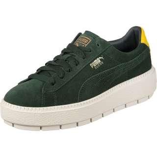 PUMA PlatformTraceBold W Sneaker Damen grün/gelb/weiß
