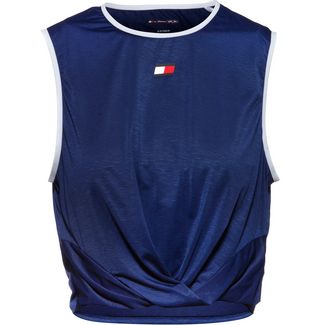 Tommy Hilfiger Croptop Damen blue ink