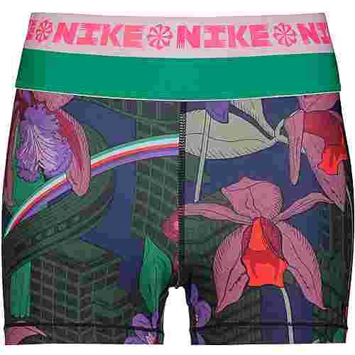 Nike Tights Damen bright crimson-black