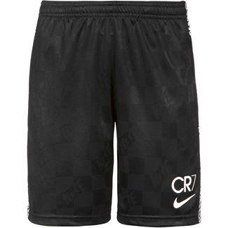 Nike CR7 Fußballshorts Kinder black-total orange