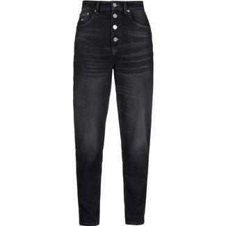 Tommy Hilfiger Straight Fit Jeans Damen save pf black comfort