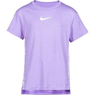 Nike T-Shirt Kinder violet star