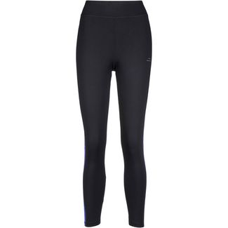 VENICE BEACH Plus Size Tights Damen black_aop art stripes