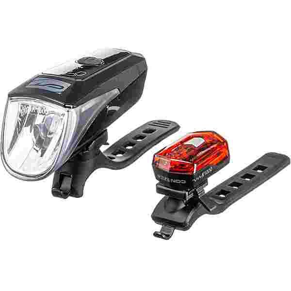 Contec 247+70 LUX MIT SENSOR Fahrradbeleuchtung schwarz