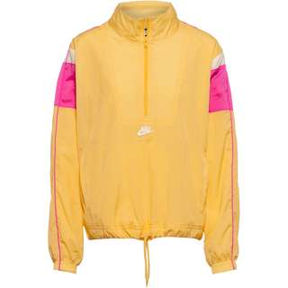 Nike NSW Heritage Windbreaker Damen topaz gold-fire pink-white-white