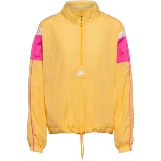 Nike NSW Heritage Windbreaker Damen topaz gold-fire pink-white-white