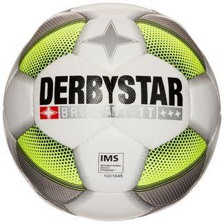 Derbystar Brilliant TT DB Fußball weiß / grau