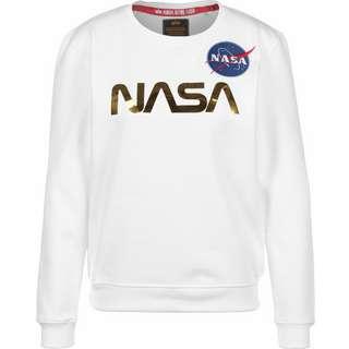 Alpha Industries NASA PM Sweatshirt Damen weiß