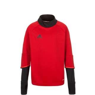 adidas Condivo 16 Sweatshirt Kinder rot / schwarz