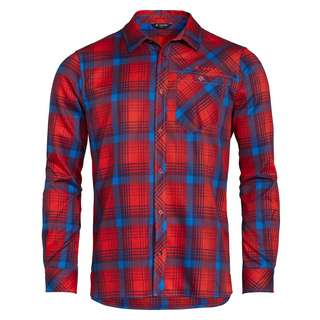 VAUDE Men's Neshan LS Shirt III Funktionsbluse Herren mars red