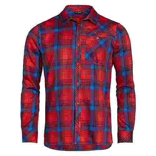 VAUDE Men's Neshan LS Shirt III Funktionsbluse Herren mars red