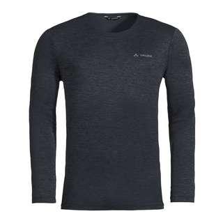 VAUDE Men's Essential LS T-Shirt T-Shirt Herren phantom black