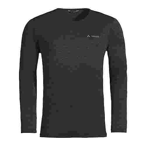 VAUDE Men's Essential LS T-Shirt T-Shirt Herren phantom black