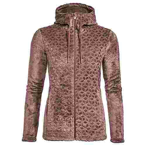 VAUDE Women's Skomer Soft Fleece Jacket Outdoorjacke Damen dusty rose