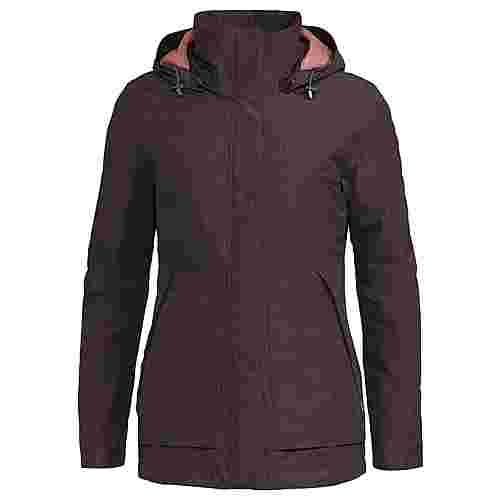 VAUDE Women's Limford Jacket III Outdoorjacke Damen pecan brown