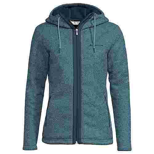 VAUDE Women's Skomer Hooded Jacket Outdoorjacke Damen blue gray