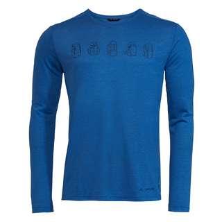VAUDE Men's Rosemoor LS T-Shirt II T-Shirt Herren signal blue