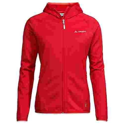VAUDE Women's Elope Fleece Jacket Outdoorjacke Damen mars red