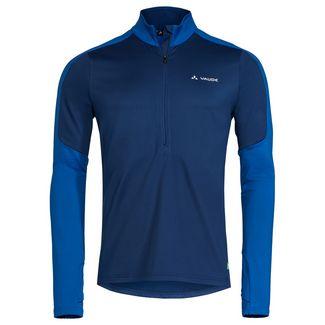 VAUDE Men's Livigno Halfzip II Sweatshirt Herren signal blue