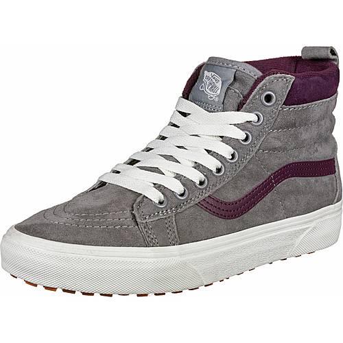 Vans SK8 Hi MTE Sneaker grauweinrot im Online Shop von