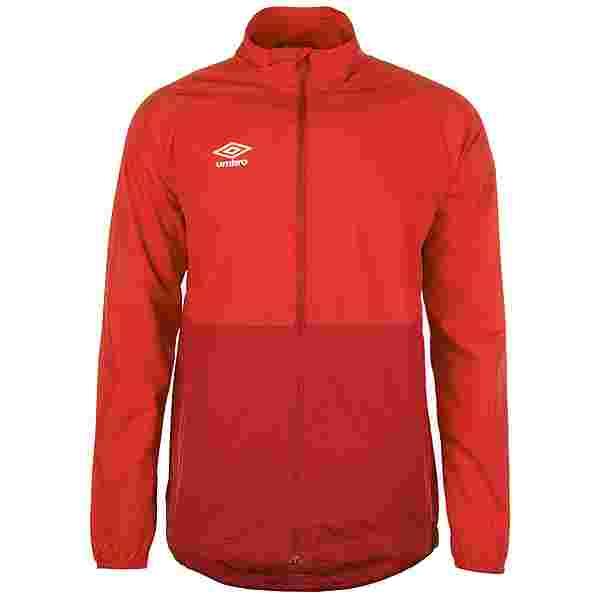 UMBRO Training Shower Trainingsjacke Herren rot / dunkelrot