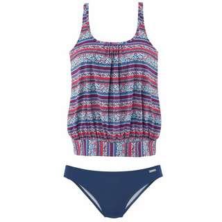 Lascana Bikini Set Damen marine-rot