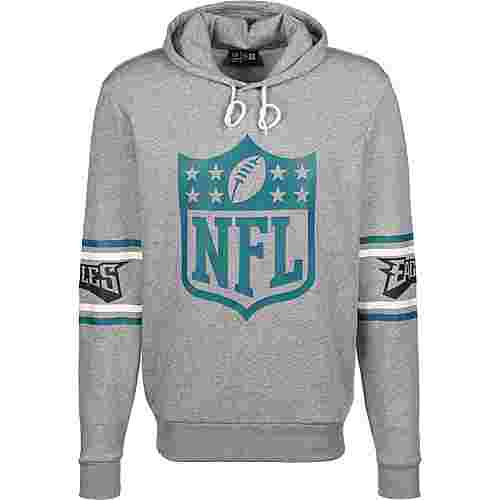 New Era NFL Badge Philadelphia Eagles Hoodie Herren grau/meliert