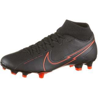 Nike Mercurial Superfly 7 Academy MG Fußballschuhe black-black-dk smoke grey