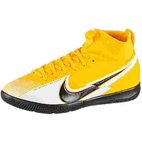 Nike Jr. Mercurial Superfly 7 Academy IC Fußballschuhe Kinder laser orange-black-white-laser orange