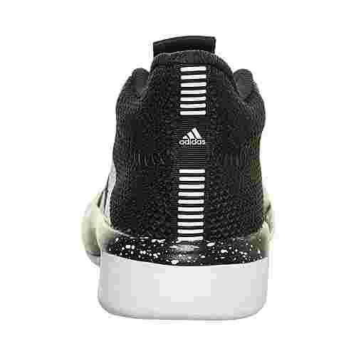 adidas Pro Next 2019 Basketballschuhe Kinder schwarz / weiß