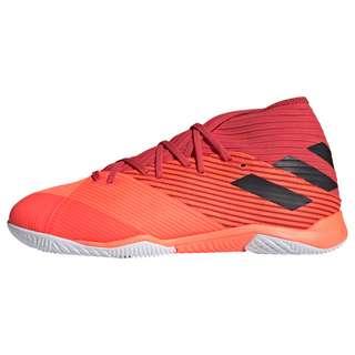 adidas Nemeziz 19.3 IN Fußballschuh Fußballschuhe Herren Signal Coral / Core Black / Glory Red