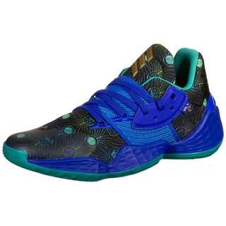 adidas Harden Vol. 4 Basketballschuhe Herren blau / gold