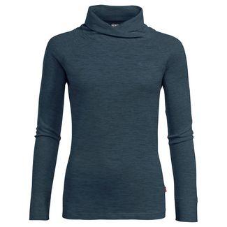 VAUDE Women's Altiplano LS T-Shirt T-Shirt Damen steelblue