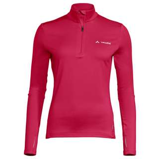 VAUDE Women's Livigno Halfzip II Sweatshirt Damen cranberry