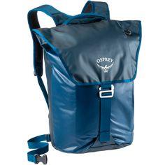 Osprey Rucksack Transporter Flap Daypack Deep Water Blue