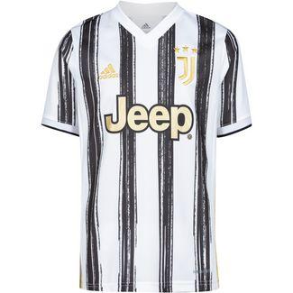 adidas Juventus Turin 20/21 Heim Fußballtrikot Kinder white