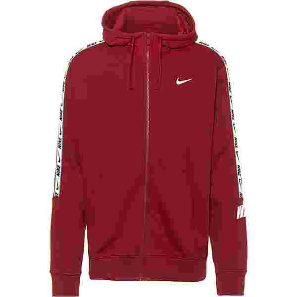 Nike NSW Repeat Sweatjacke Herren team red