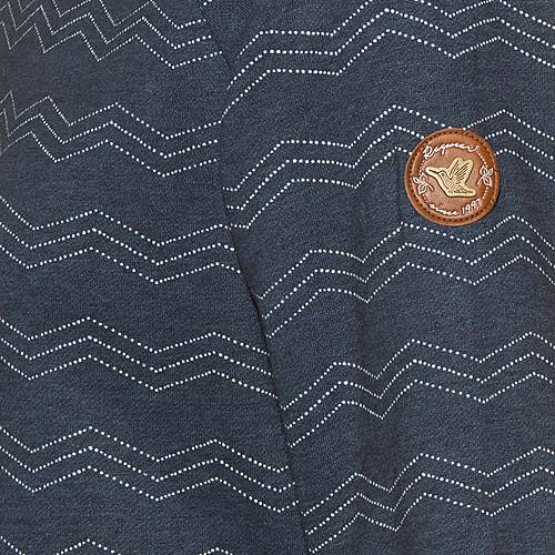 Ragwear Daria Zig Zag Sweatshirt Damen navy im Online Shop