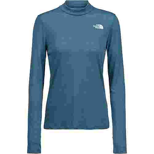 The North Face Active Trail Novelty Funktionsshirt Damen mallard blue heather