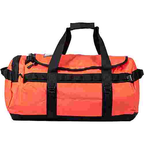 The North Face BASE CAMP DUFFEL Reisetasche flare/tnf black